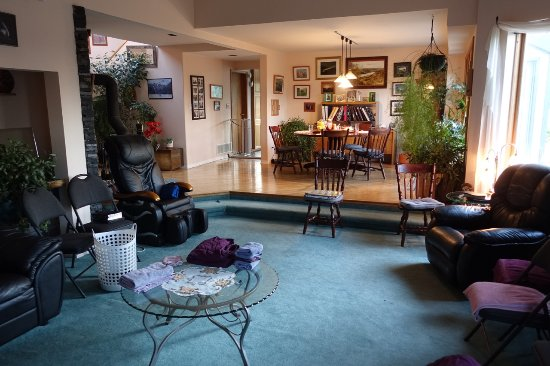 Mountainview Bed and Breakfast : Common area and breakfast area