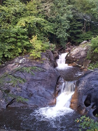 Kent Falls State Park: one of the upper layers