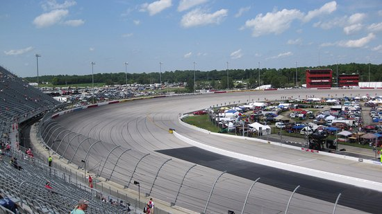 Darlington, SC: Turn 4 from Pearson Tower
