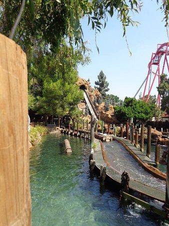 Buena Park, CA: Knott's log ride
