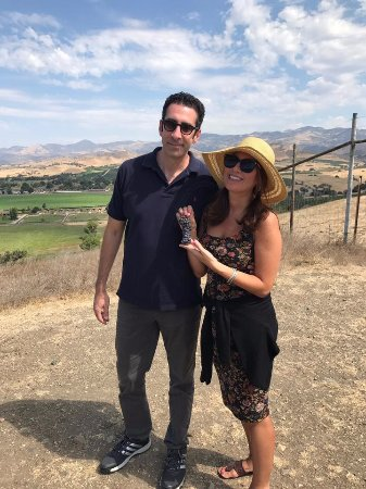Sustainable Vine Wine Tours : I got to eat grapes right off the vine at Happy Canyon