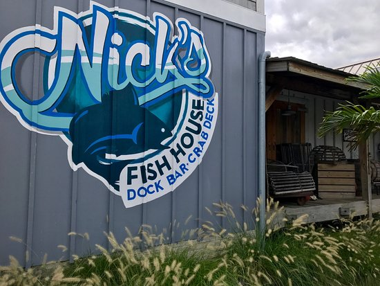 Nick 39 s facade along insulator drive picture of nick 39 s for Nick s fish house baltimore md