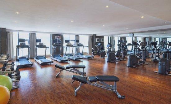 Bijie, China: Fitness Center