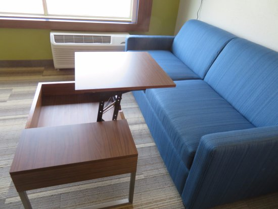 Holiday Inn Express U0026 Suites Chicago North Shore   Niles: Handy Coffee  Table Opens Up