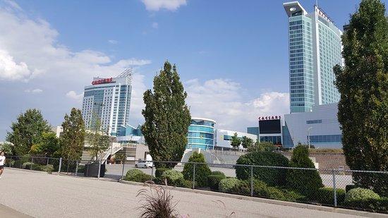 Caesars Windsor: Exterior view of casino