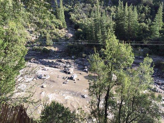 Cascada de las Animas: Río Maipo