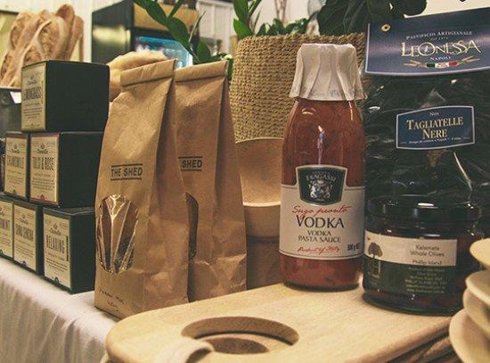 Ventnor, Australië: provedore, pasta, pasta sauces, produce