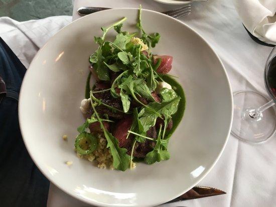 Old Vines Restaurant : rangeland bison