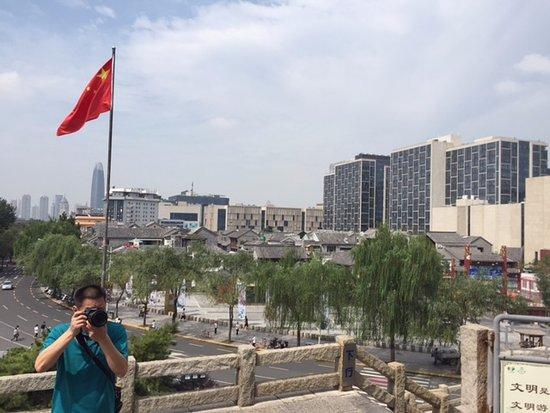Jinan, Kina: 閣上風景