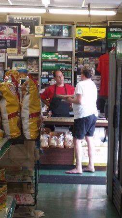 Ambler, PA: No, lays potato chips didn't take over this deli. Nice interaction bt employee and customer.