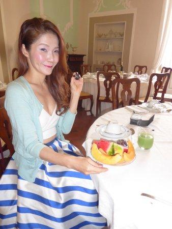 Gaiole in Chianti, Ιταλία: breakfast