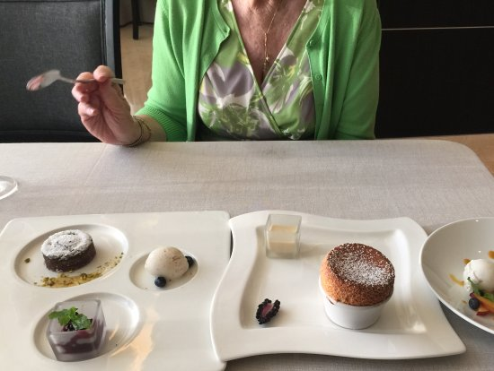 Casa Velas: French fare at Grand Velas - yes, that's a grand marnier soufflé!