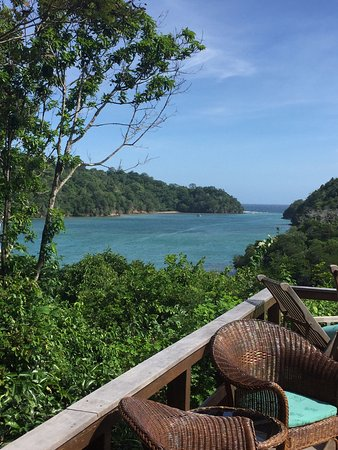 Divers Lodge Lembeh : View from the breakfast area