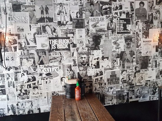 Ms G's: The bar wall