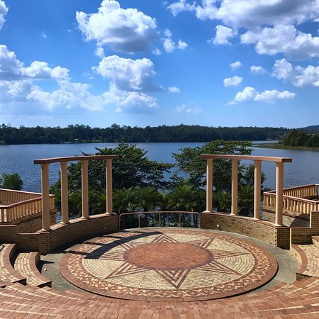 Cooroy, Austrália: Amphitheatre overlooking the lake