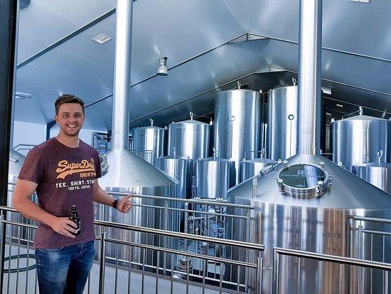 Darling Brewery: Brewery behind me