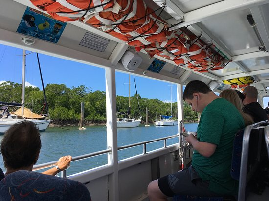 Duck About Tours: Trinity inlet