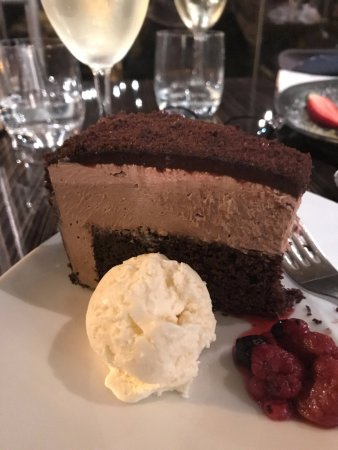 Brown Sugar: Chocolate Mousse and Mud Cake - delicious
