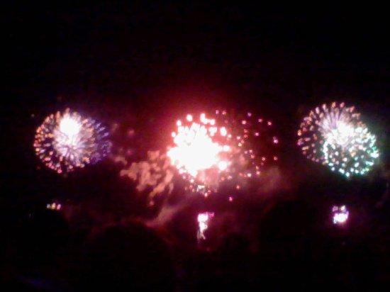 Katsushika, Giappone: 江戸川に映える花火