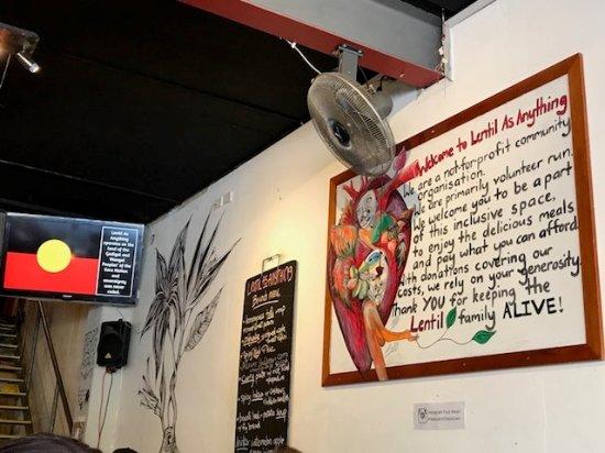Photo of Restaurant Lentil As Anything at 391 King St, Newtown, Ne 2042, Australia