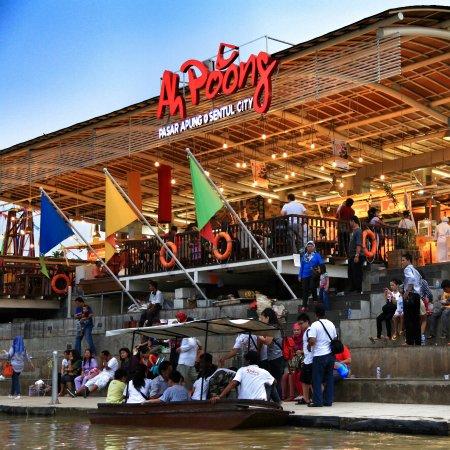 Floating Market Ah Poong: View Ah Poong