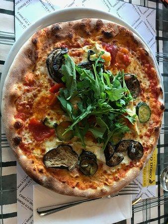 Pizza La Lampara (vegetarian)