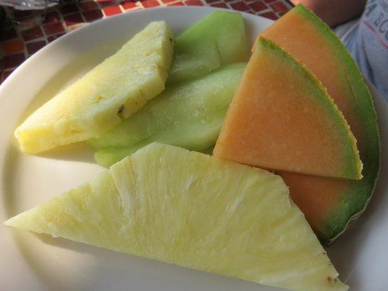 Edwards, CO: Large order of fresh fruit