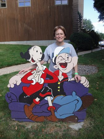 Cheshire, CT: Popeye and Olive Oyl