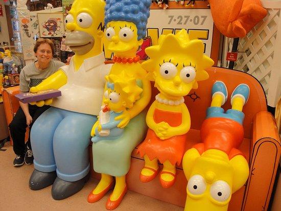 Cheshire, كونيكتيكت: The Simpsons