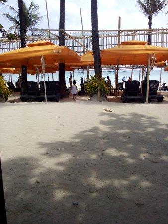 Red Coconut Beach Hotel: Beachfront Sun Beds