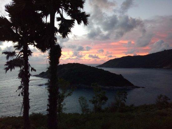 After sunset view at Promthep Cape, Rawai, Phuket