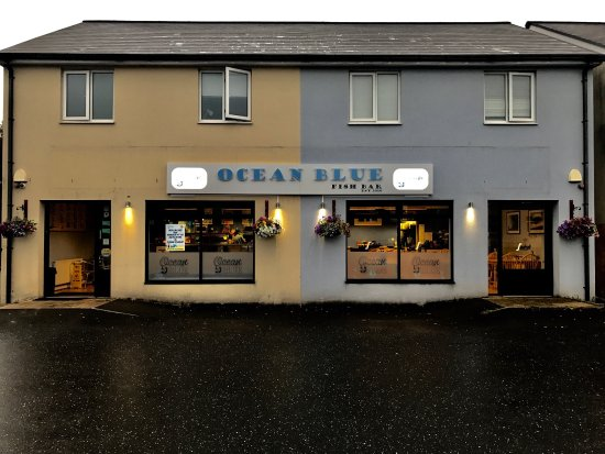 Ammanford, UK: Ocean Blue Fish Bar & Restaurant