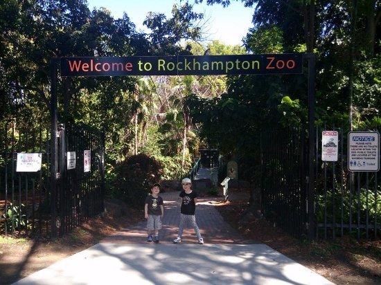 Jardin botanique et zoo de Rockhampton : zoo entrance