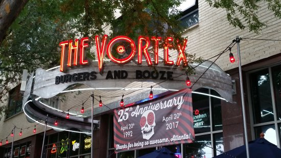 The Vortex Atlanta 878 Peachtree St Ne Midtown Menu Amp Prices Tripadvisor