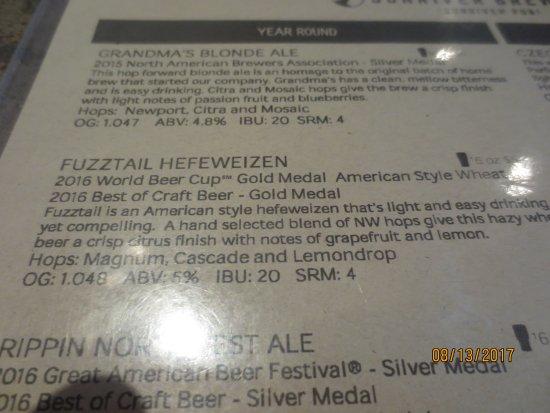 Sunriver, OR: Award winning craft beer
