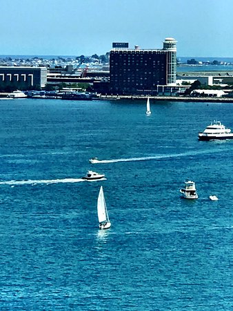 Boston Harbor Hotel: Summer in Boston is amazing. And the lobster rolls, what can I say!