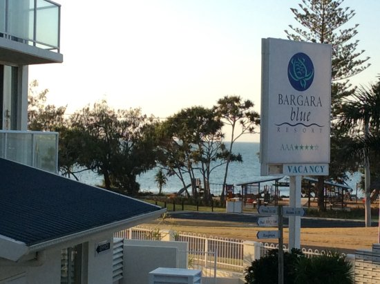 Bargara Blue Resort: View from Unit balcony
