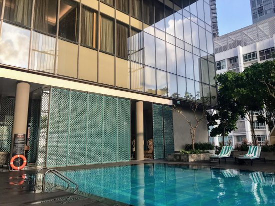 Around 21st Floor Swimming Pool Oasia Hotel Downtown Picture Of Oasia Hotel Downtown