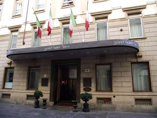 Grand Hotel Sitea: la facciata