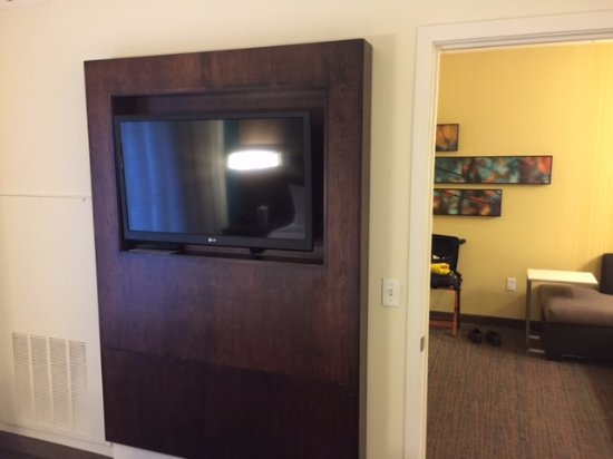 Wall Mounted Flat Screen Television In Bedroom Picture Of