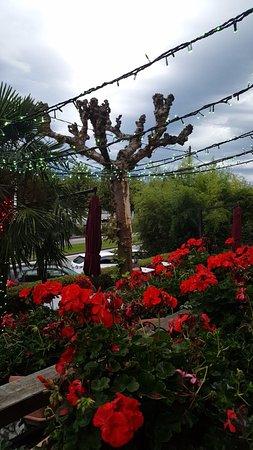 Tresserve, France: extérieur du chalet
