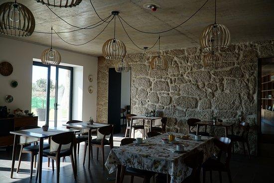 Castelo Novo, Portugal: Sala de jantar