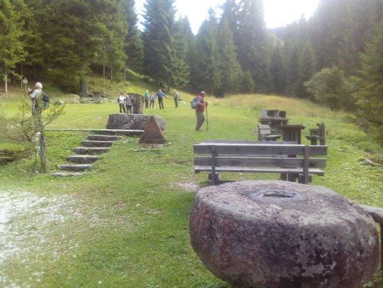 Chiesa, Itália: Escursione al forte Cherle