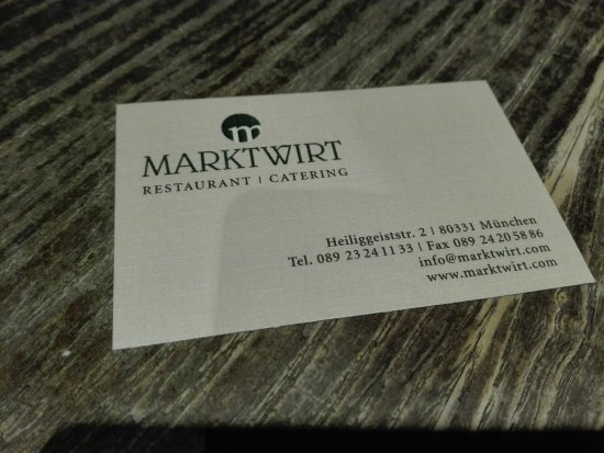Marktwirt Photo