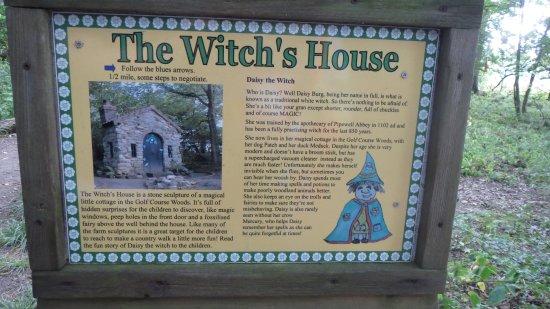 Desborough, UK: witches house