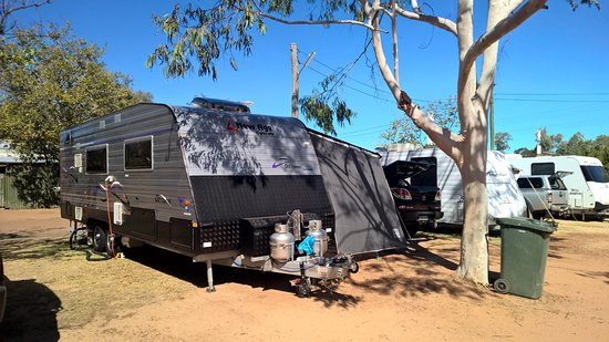 Blackall, Australia: Great site with shade
