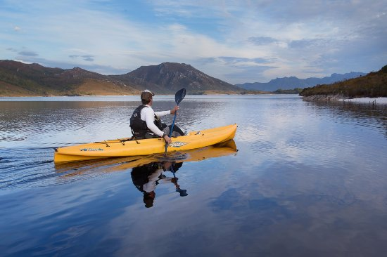 New Norfolk, Avustralya: Lake Pedder Kayak Adventure