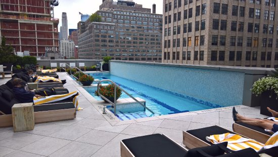 Pool On 7th Floor Picture Of The Dominick Hotel New York City