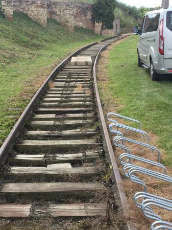 Terezin, Czech Republic: Train tracks