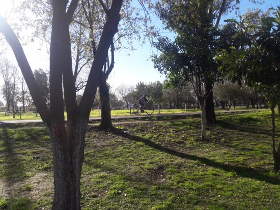 Lanus, Argentina: Ciclistas